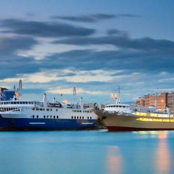 Λιμάνι Πειραιά προς Αθήνα κέντρο