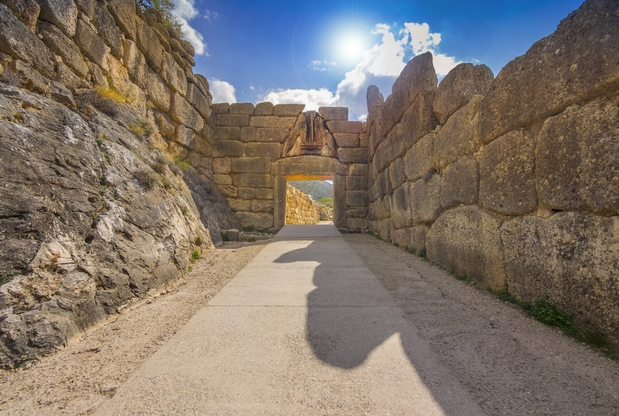 mycenae-entrance